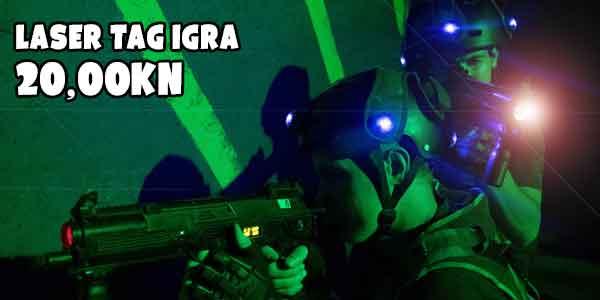 laser tag akcija zagreb paviljon 22 20kn igra