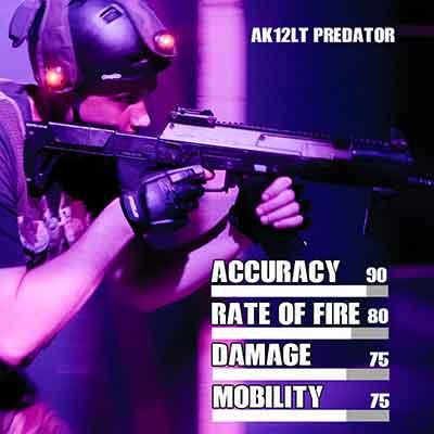Laser tag AK12 PREDATOR gun