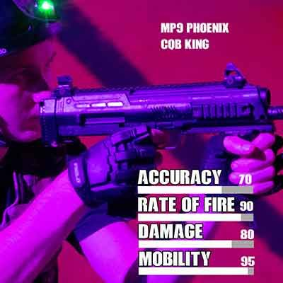 laser tag SMG Phoenix MP9